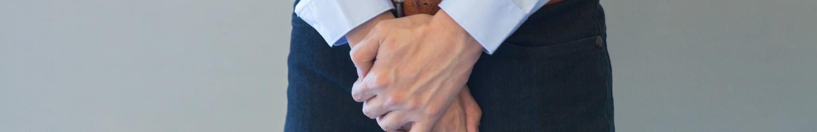 Slider cuidado de próstata manos