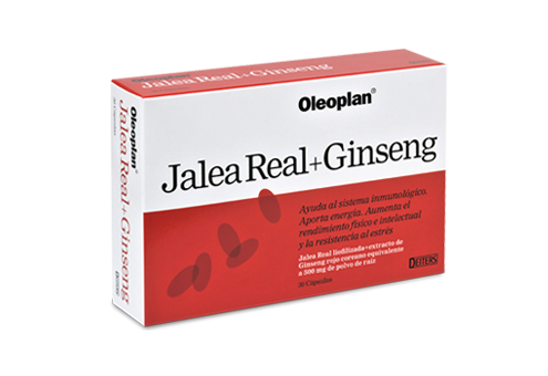 Jalea Real y Ginseng para recuperar energía