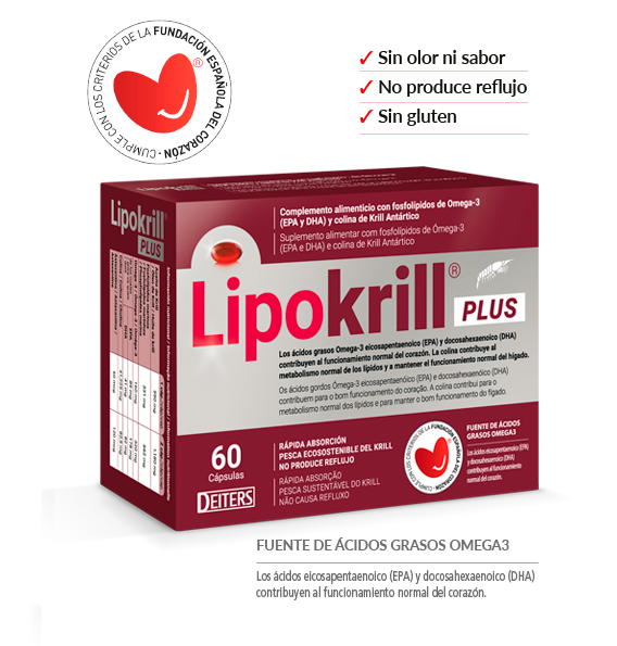 Lipokrill Plus Omega 3