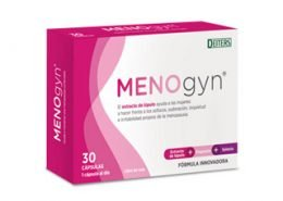 Menogyn con extracto de lúpulo para la menopausia
