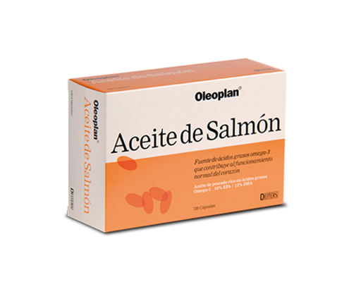 Pack aceite de salmón con ácidos grasos Omega 3