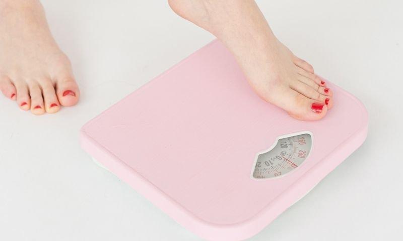 báscula para calcular peso saludable
