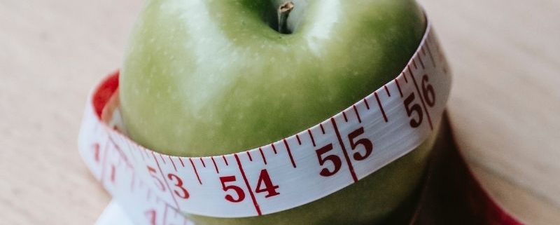 manzana peso saludable