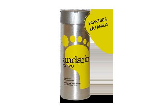 Polvos desodorantes Andarín