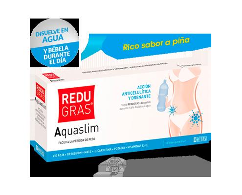 Redugras Aquaslim con acción anticelulítica y drenante