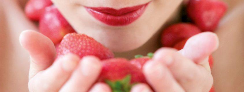 Fresas para aumentar la fibra