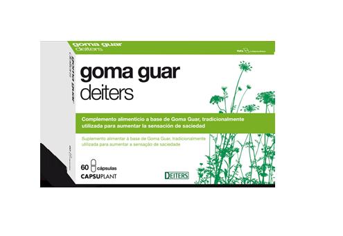 Goma Guar para controlar la sensación de saciedad