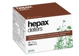Hepax Deiters para ayudar a una buena función hepática