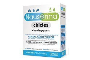 Nauserina 12 Chicles antimareos