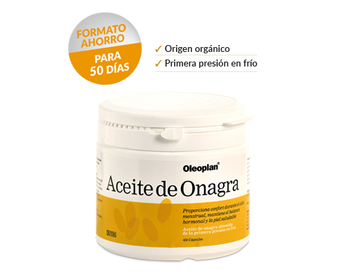 Pack Aceite de Onagra para mantener el equilibrio hormonal