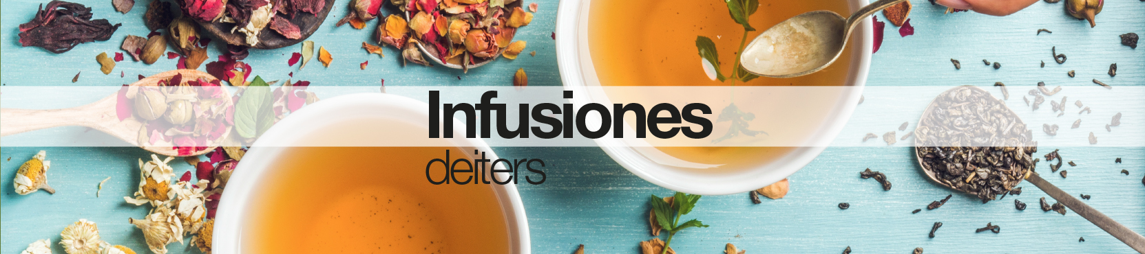 Slider Infusiones Deiters naturales